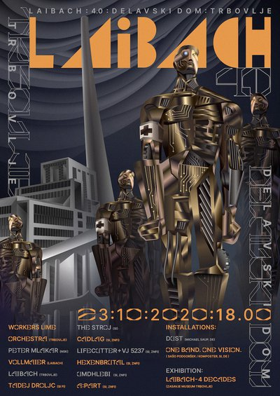 Laibach 40th anniversary poster