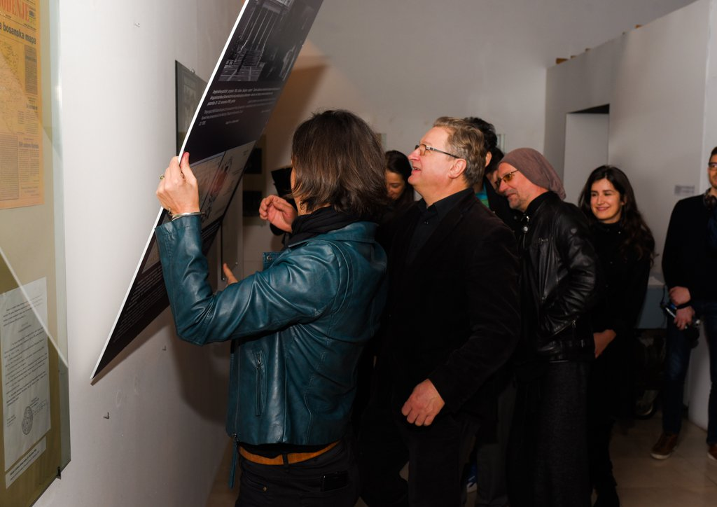 "The visit of the ""Besieged Sarajevo"" exhibition and the the integration of the Laibach concert story from 1995 in the permanent exhibition"