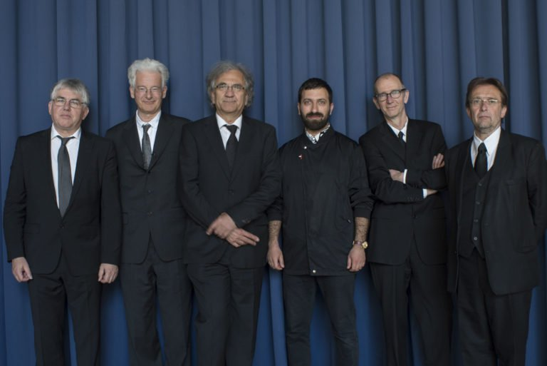 Irwin with Ahmet Öğüt and NSK State Pavilion at the 57th Venice Biennale