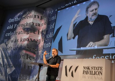 Lecture Slavoj Žižek: The Courage of Hopelessness
